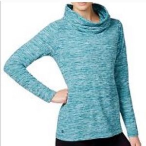 Athleta pullover tranquility space dye sweatshirt